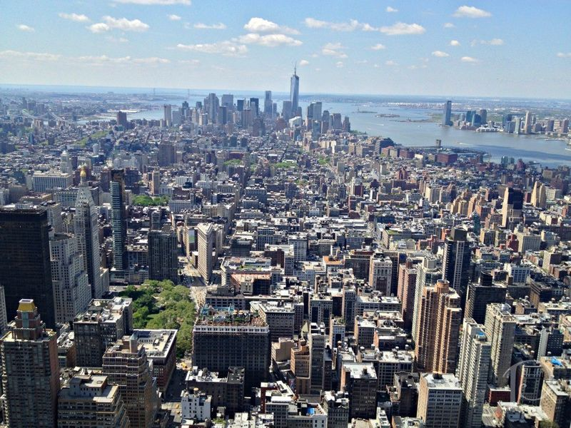 Empire state view daytime